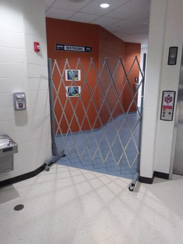 The school closed down the bathroom near the event entrance as it was a problem area for vaping and smoking.