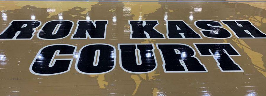 The+EHS+gymnasium+court%2C+named+after+Mr.+Kash.