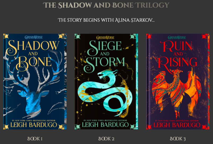 The Grisha Trilogy. (Photo taken from Leigh Bardugos official website)