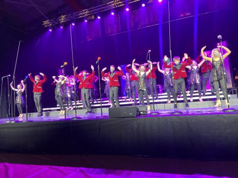 The Choraliers finished out their season with numerous awards and top standings.